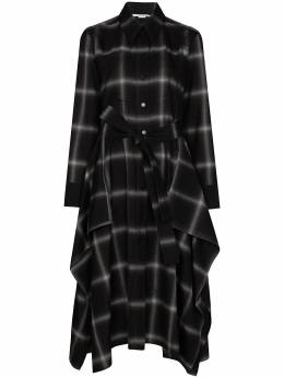 Stella McCartney платье-рубашка Leilani в клетку 602298SPB21