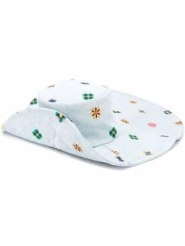 Kirin широкополая шляпа с цветочным принтом KWLA005F20DEN0014087