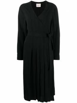 Alysi платье с запахом 150314A0009NERO159072