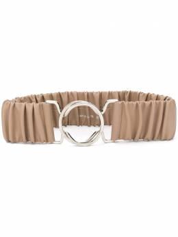 Erika Cavallini ruched waist belt W0PP0WW51