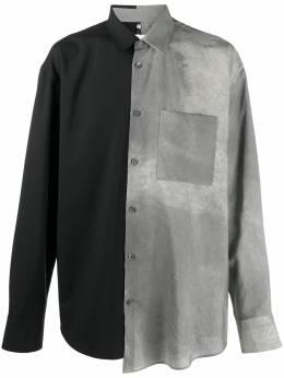 Oamc двухцветная рубашка на пуговицах OAMR600431390930A030