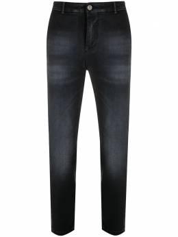 Pt05 прямые джинсы с эффектом потертости C5NJ01Z40CHNCA36