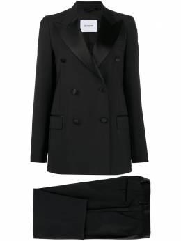 Dondup костюм с двубортным пиджаком и брюками DA006PX0062