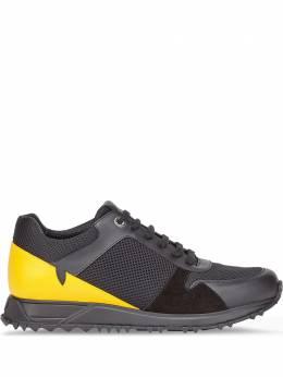 Fendi кроссовки со вставками 7E1361ABNP