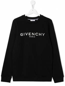 Givenchy Kids толстовка с логотипом H25J45T09B