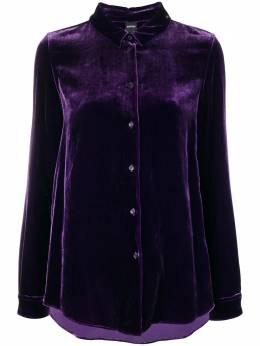Aspesi velvet buttoned up cardigan 5411A950