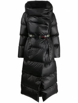 Isaac Sellam Experience long leather puffer coat QUADRIH21