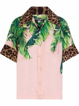 Dolce&Gabbana рубашка с принтом F5M70TGDV28