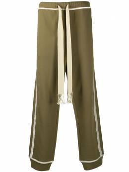 Loewe спортивные брюки с вышивкой Anagram H526341X95