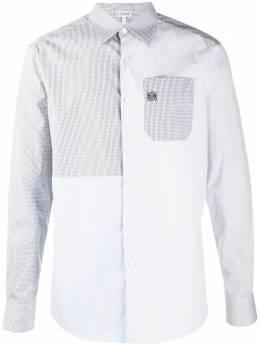 Loewe рубашка в технике пэчворк H526337XA6