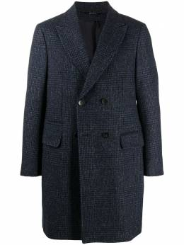 Z Zegna двубортное пальто в клетку 8897234DG4G0