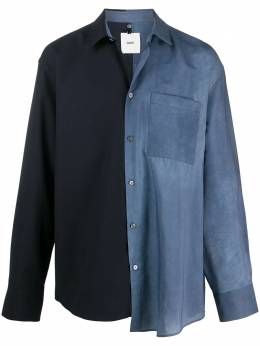 Oamc двухцветная рубашка на пуговицах OAMR600431390930A401