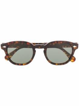 Moscot солнцезащитные очки Lemtosh в круглой оправе LEMTOSH49