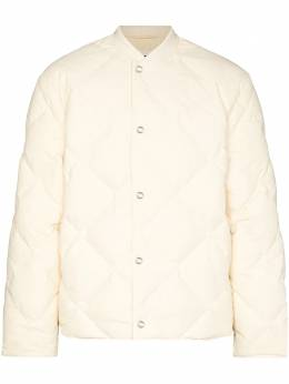 Jil Sander quilted bomber jacket JPUR441794MR440900