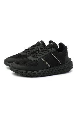 Комбинированные кроссовки Urchin Giuseppe Zanotti Design RU00038/001