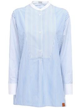 Рубашка-туника Из Хлопка Loewe 72I5BV015-MjEwNQ2