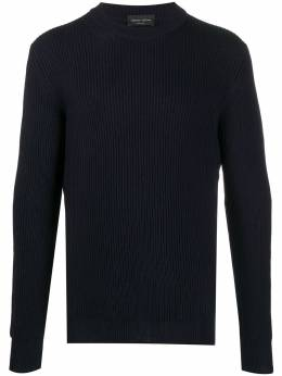 Roberto Collina ribbed crew-neck jumper RD02101