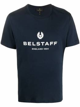 Belstaff футболка 1942 Pine с логотипом 71140319J61N0103