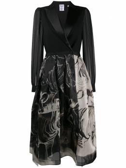 Sara Roka платье Areta с запахом ARETALS8535