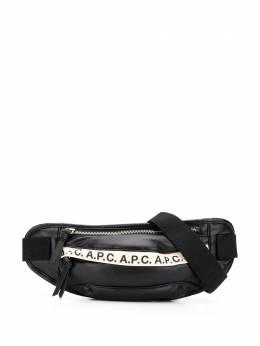 A.P.C. поясная сумка с логотипом PUAAQH62097