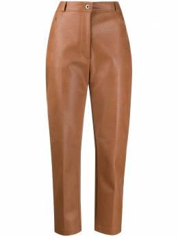 Stella McCartney брюки Hayley из искусственной кожи 543858SJB14