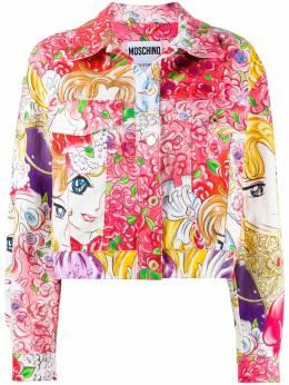 Moschino куртка с принтом J05265451