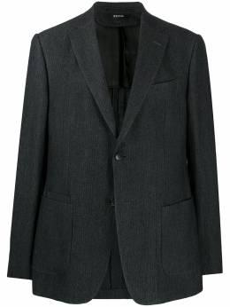 Z Zegna однобортный пиджак в тонкую полоску 8427701VRUG0