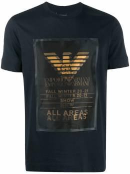 Emporio Armani short-sleeve logo print t-shirt 6H1TA31JDXZ