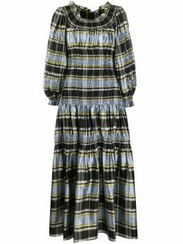 Tory Burch платье в полоску 76389