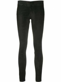Isaac Sellam Experience Precise leather trousers PRECISE2STRETCHE20PLOMB