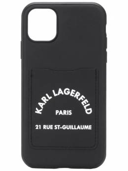 Karl Lagerfeld cardslot iPhone 11 case KL20CSBK090