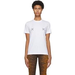 Kenzo White Triple-X Loose T-Shirt FA62TS9104SJ