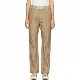 A-Cold-Wall* Tan Converse Edition Ripstop Trousers 10019369-A01