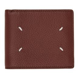 Maison Margiela Brown Leather Bifold Wallet S35UI0435 P2686