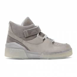 A-Cold-Wall* Grey Converse Edition ERX 206 Mid Sneakers 168176C