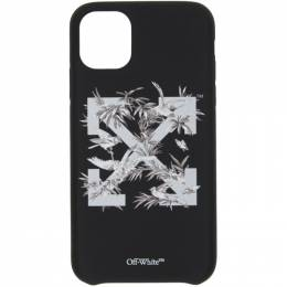 Off-White Black Birds iPhone 11 Case OWPA014F20PLA0011009