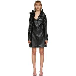 Y / Project Black Snake Ruffle Collar Dress WSHIRT49-S19