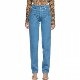 Y / Project Blue Cut-Out Jeans WJEAN30-S19