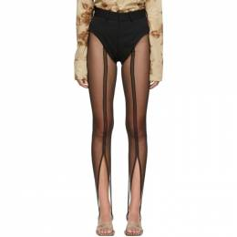 Y / Project Black Tulle Leggings WPANT66-S19