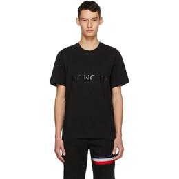 Moncler Black Logo T-Shirt F20918C7A710829H8
