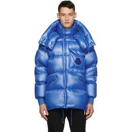 Moncler Blue Down Tarnos Jacket 1B58300539WF