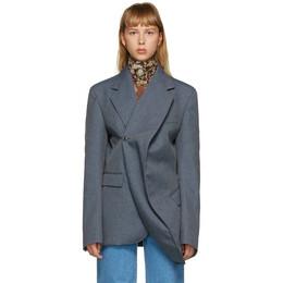 Y / Project Grey Twisted Blazer BLAZ29-S19