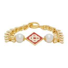 Casablanca Gold O Thongthai Edition Pearl Bracelet BRACELET