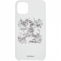 Off-White White Birds iPhone 11 Pro Max Case OWPA013F20PLA0010109