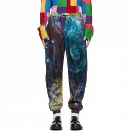 Charles Jeffrey Loverboy Multicolor Swirls Print Painters Tracksuit Trousers COREAW20PTT
