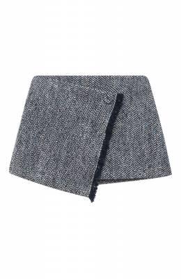 Шерстяная юбка Il Gufo A20GN169W5015/2A-4A