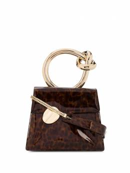 Benedetta Bruzziches сумка-тоут черепаховой расцветки с круглой ручкой BBBLUEJASMINE