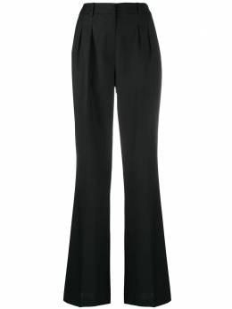 Loulou flared wool trousers SBIRU