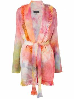 Alanui Swan Nebula dyed cardigan LWHB032F20KNI0158585