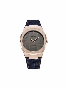 D1 Milano наручные часы Western Denim Ultra Thin 40 мм UTDJ03